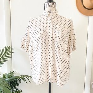 Madewell Courier Button Down Blouse